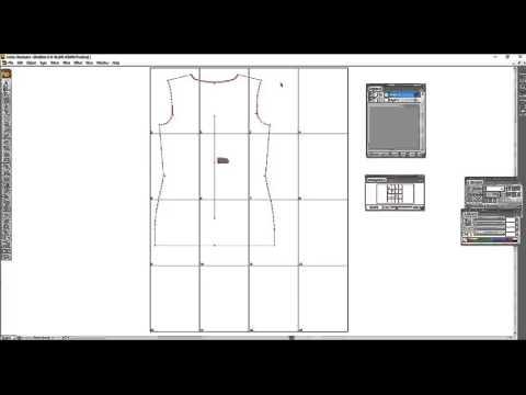 Adobe Illustrator CS3: Creating a Tiled Artboard for PDF Sewing Patterns