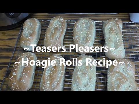 ~Whole Wheat Hoagie Rolls~