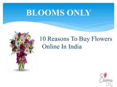 10 reasons to buy  flowers online in India