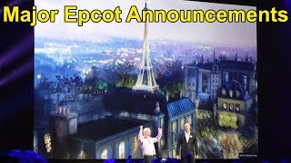 New Epcot Attractions Announced at Disney D23 Expo: Ratatouille, Guardians of the Galaxy
