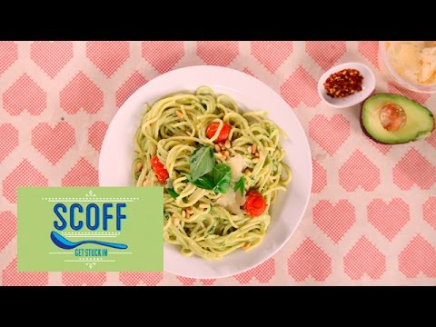 Awesomely Simple Avocado Spaghetti I We Heart Food