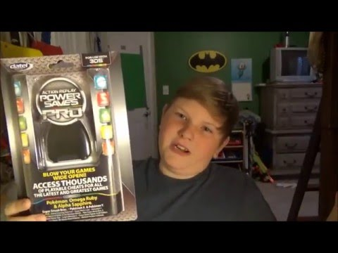 Action Replay Power Saves Pro 3DS {unboxing/tour}