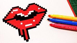 Handmade Pixel Art How To Draw A Bunny Pixelart