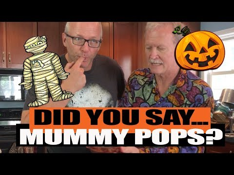 Appletinis with Ken-Did you say Mummy Pops?