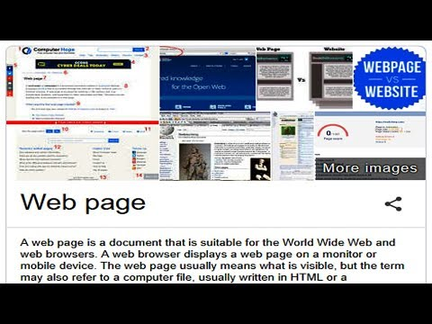 What is web page - 38