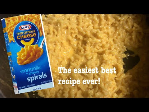 HOW TO MAKE THE EASIEST AND BEST KRAFT BOXED MAC AND CHEESE   SECRET INGREDIENT   SHOWSTOPPER SHOWS