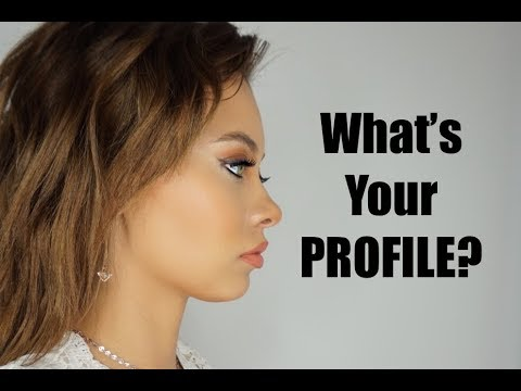 THE BEST HAIRSTYLE FOR YOUR FACIAL PROFILE! | Brittney Gray