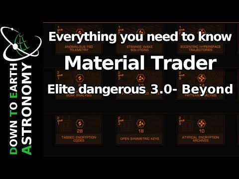 Material trader - Everything you need to know - Elite dangerous 3.0 Beyond
