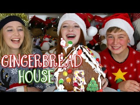 Lidl and Poundland Gingerbread Houses, Decorating Challenge | NiliPOD