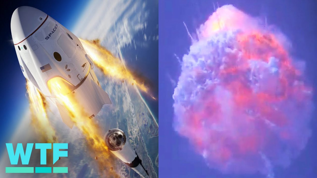 Watch SpaceX blow up a Falcon 9 rocket to test its launch abort system