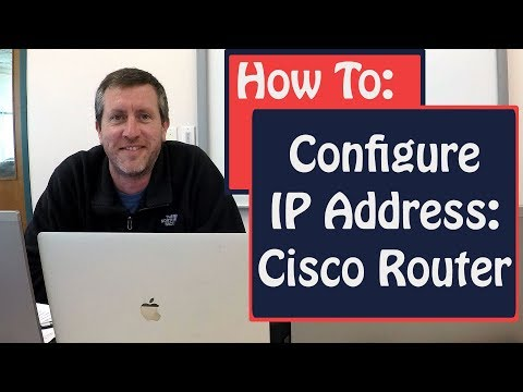 How To Configure An IP Address On A Cisco Router