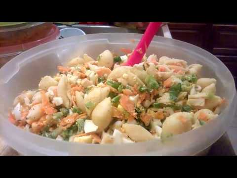 How to make an Authentic Ghanaian Salad Recipe: Christmas Edition: Step by Step Demo!