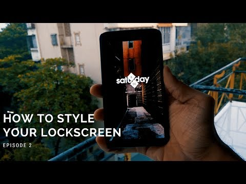 How to style your Lockscreen - Episode 2