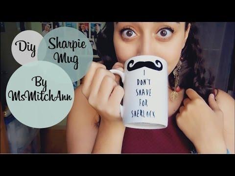 DIY Sharpie Mug for non drawing people [FANDOM EDITION]