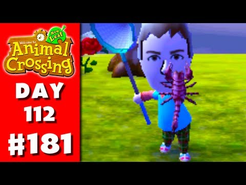 Animal Crossing: New Leaf - Part 181 - Scorpion (Nintendo 3DS Gameplay Walkthrough Day 112)