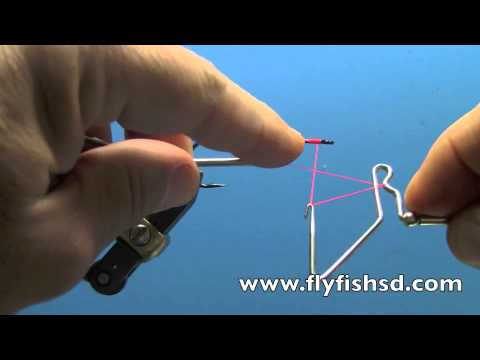 Fly Tying with Dave Gamet- Using a Rotating Whip Finisher
