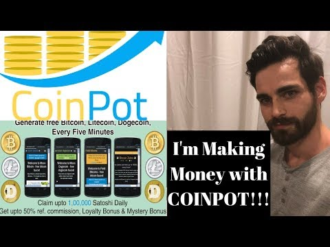 I'm Making Good Money with Coin Pot  using Faucets its free no investment! Safe Investment!