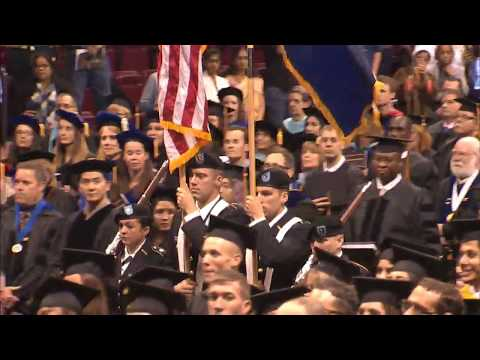 IUP Graduate Commencement Ceremony, Spring 2018