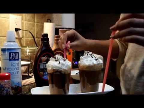 DIY Iced Caramel Mocha Frappuccino ♥