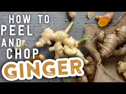 How to Peel and Chop Ginger | MyRecipes