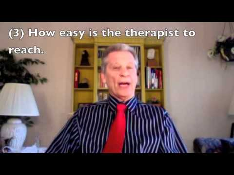 Finding A Good Therapist or Marriage Counselor - Dr. Marty Tashman, Somerset NJ