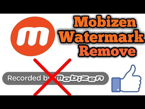 {One Click}How to Remove Mobizen Watermark Logo [Recorded by Mobizen]