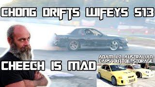 chong drifts wifeys s13 / LZ australian cars reappear