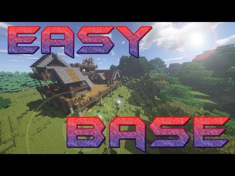 How to make a Minecrat Base part 2 | Meat Cooker Mineshaft and netherportal | Minecraft Lets Build