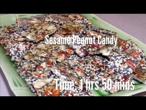 Sesame Peanut Candy Recipe