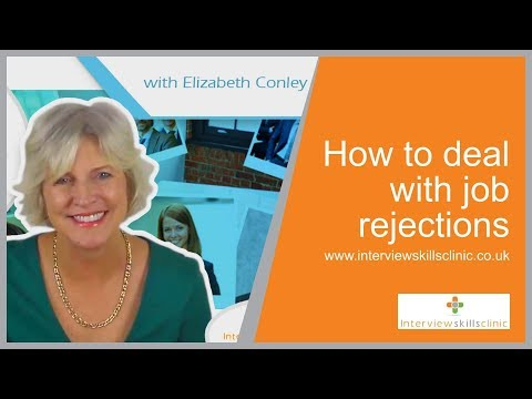 How To Deal With A Job Rejection
