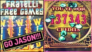 8 Petals HAND PAY by Jason & Goonies BONUS! 🎰 Slot Machines w Brian Christopher
