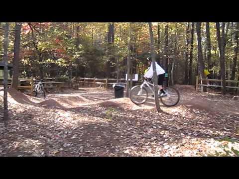 Big Creek Bike Trail - Small Pump Track