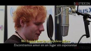 Ed Sheeran - We Found Love (Sub Español + Lyrics)