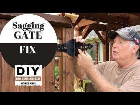 Gate Fix, How to repair a dragging gate