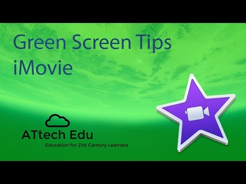 How to use Green Screen with iMovie - Chroma Key - Special effects in iMovie