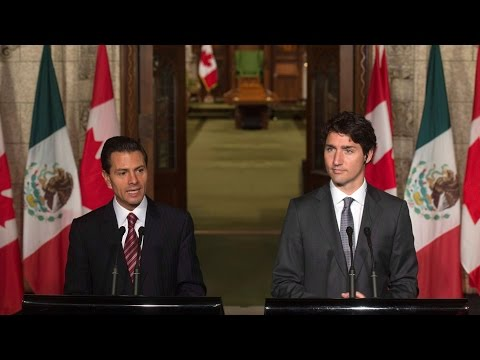 Canada to lift visa rules for Mexican visitors: PM Trudeau
