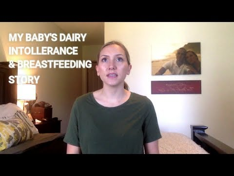 DAIRY FREE + BREASTFEEDING JOURNEY I SIGNS + SYMPTOMS FOR A COLICKY BABY W/ MILK PROTEIN ALLERGY