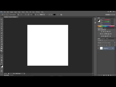 How to add copyright sign using adobe photoshop