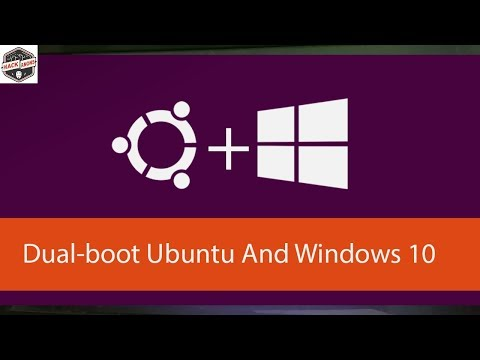 Dual Boot Linux Ubuntu 17.10 with Windows 10  Step by Step Guide