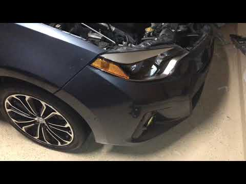 Remove 2014-2016 Toyota Corolla Headlight ASSEMBLY Without Removing Bumper, For Tinting or whatever!