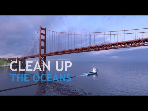 Supporting The Ocean Cleanup with our innovative material Dyneema ®, the world's strongest fiber.™