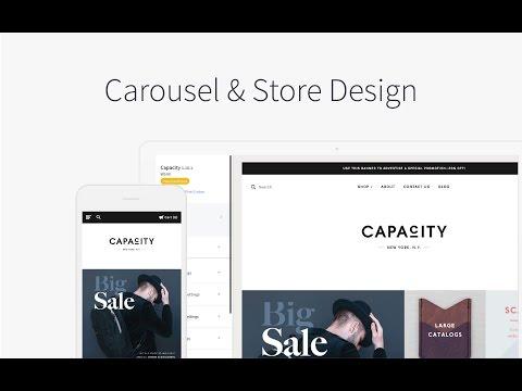 Carousel & Design Options | BigCommerce Tutorials