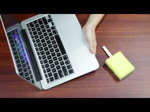 How To Use Sponges To Clean Your Laptop's Keyboard DIY