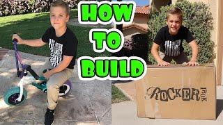 HOW TO BUILD A ROCKER BMX!
