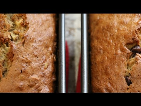 Dark Chocolate Walnut Banana Bread Short
