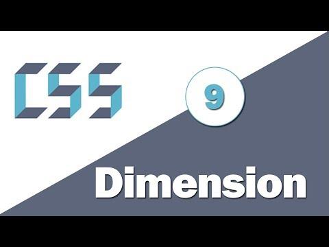 9 - ( CSS Tutorial ) Width & Height Properties