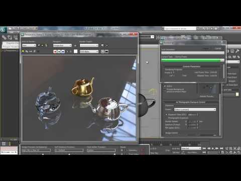 3D Max Studio Lighting Tutorial: How to Setup HDR Lighting in Mental Ray
