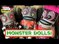 How to: No Sew Monster Dolls DIY