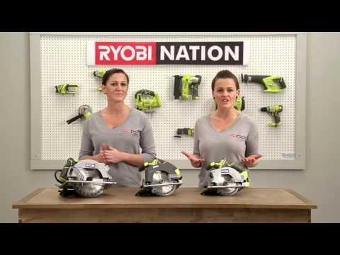Ryobi Tools 101 - circular saws
