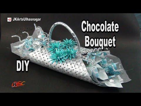 DIY Valentines Chocolate Bouquet | JK Arts 978